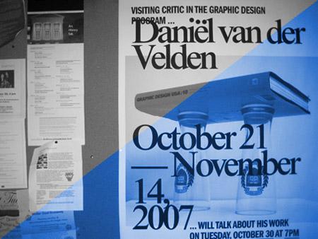 Daniel van der Velden lecture