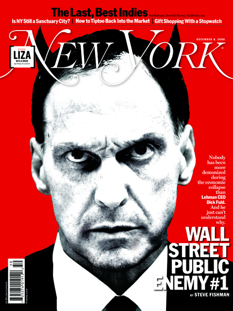 New York Cover by Gluekit, December 2008