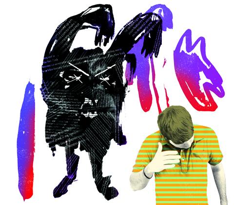 Snark Monster Illustration for New York Magazine, Gluekit 2008