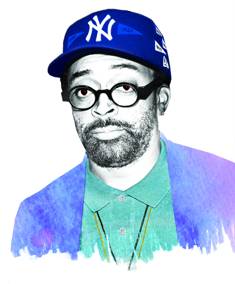Spike Lee Photo Illustration for New York Magazine, Gluekit 2008