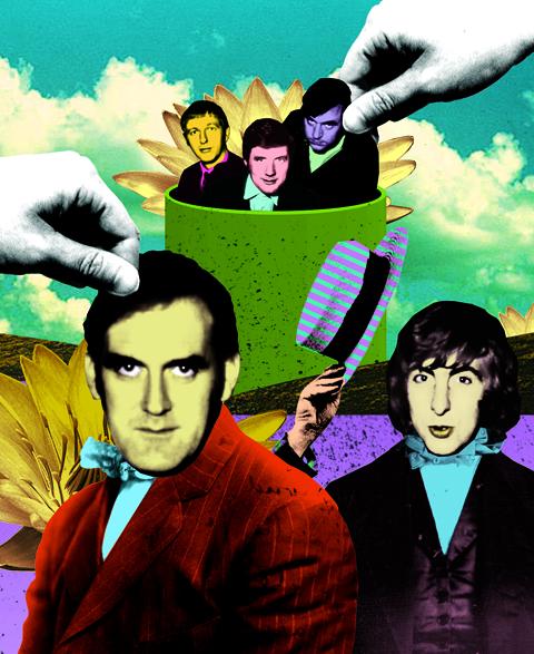 Monty Python illustration for Entertainment Weekly - Gluekit, 2008
