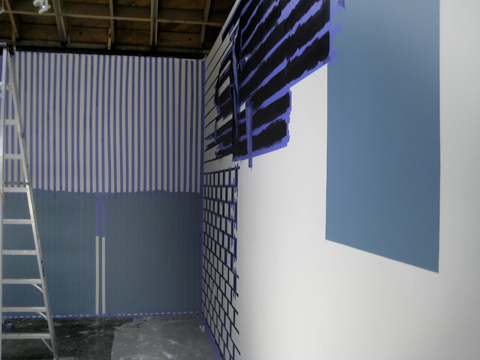 "Installation In-Progress / ""This Must Be The Place"" show, 2009 / Scion Installation LA"