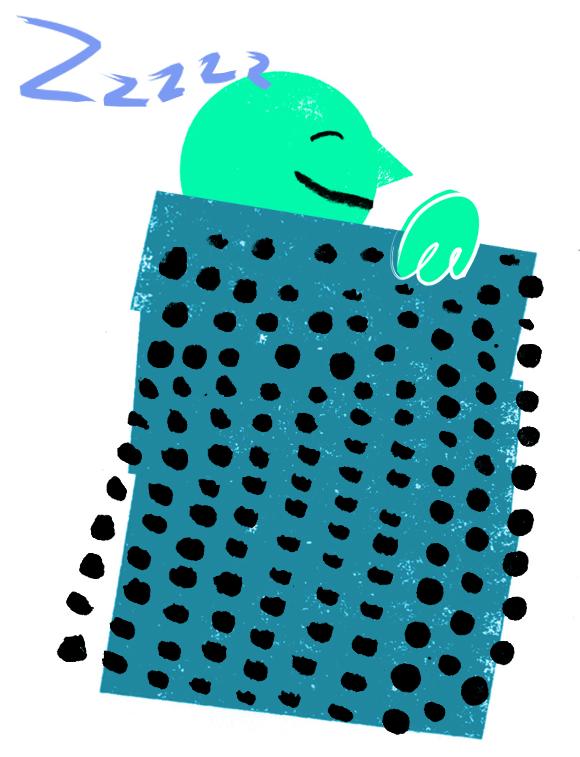 Gluekit Illustration for Cookie Magazine, 2009