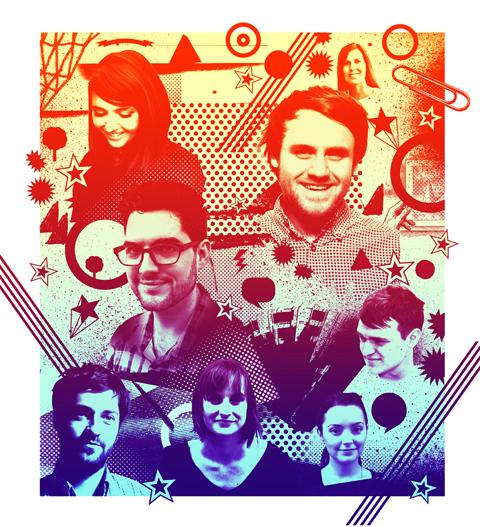 Gluekit illustration for Design Week, 2009