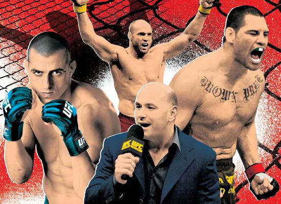 UFC Illustration by Gluekit for Rolling Stone Australia, 2010