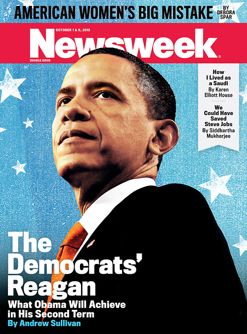Obama Newsweek Cover by Gluekit