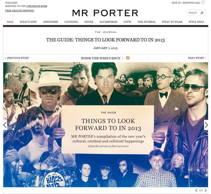 Gluekit for Mr. Porter